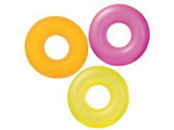 Intex Круг 59262 однотонный, 3 цвета, диаметром 91см, от 8 лет