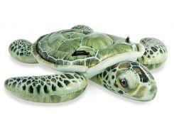 """Intex Плотик 57555 """"Черепаха"""" от 3 лет, размером 191х170см"""