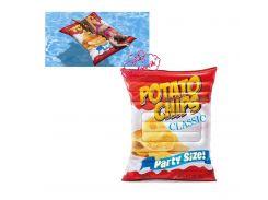"""Надувной пляжный матрас """"Картофельные чипсы"""" Intex 58776 (178х140см)"""