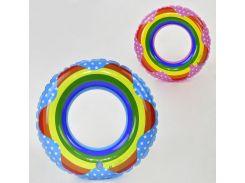 Круг детский для плавания - 2 цвета, 60 см