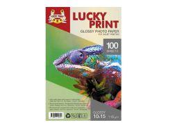 Глянцевая фотобумага Lucky Print (10*15, 115г/м2),100 листов