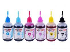 Фото-чернила для Epson Lucky Print 11UV (6*100 ml)