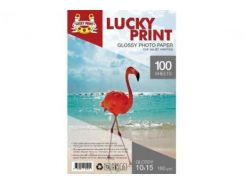 Глянцевая фотобумага Lucky Print для Epson Colorio PX-045A (10*15, 180г/м2),100 листов