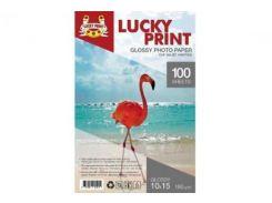 Глянцевая фотобумага Lucky Print для Epson Expression Home XP-432 (10*15, 180г/м2),100 листов