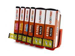 Совместимые картриджи для Epson XP-530 (C/M/Y/BK/BK/PBK) T410XL