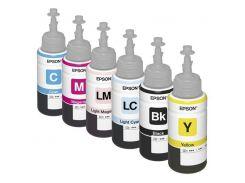 Комплект оригинальных чернил для Epson L810 (6*70 ml)