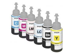 Комплект оригинальных чернил для Epson L850 (6*70 ml)
