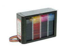 Бесчиповая СНПЧ для Epson WorkForce Hightech 4 цвета (Ключ прошивки в комплекте)