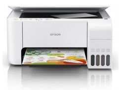 МФУ Epson L3156 с  СНПЧ и чернилами Lucky Print