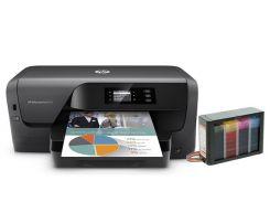 Принтер HP OfficeJet Pro 8210 с СНПЧ Hightech
