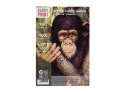Матовая фотобумага Lucky Print (10x15, 180г/м2), 100 листов