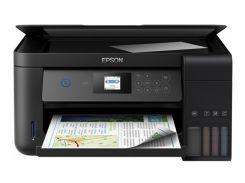 МФУ Epson L4160 с СНПЧ и светостойкими чернилами Lucky Print