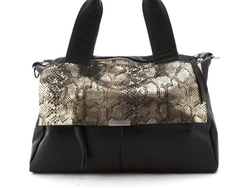 5841d27ef2b2 вместительная стильная прочная кожаная женская мягкая сумка Galanty