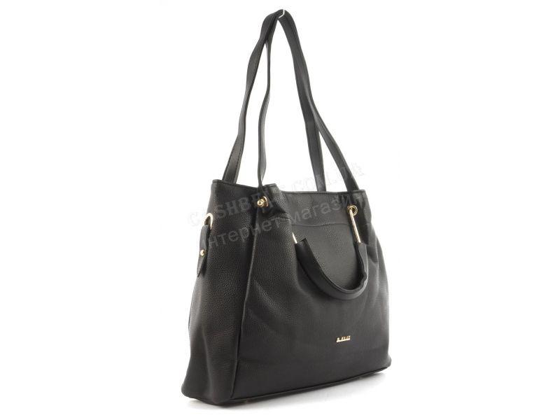 ea5f97fde8b6 07-51 черная Вместительная стильная прочная модная качественная женская  сумка B.ELIT art.