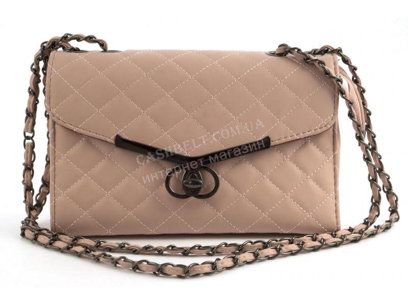 4a151c35400c Оригинальный стеганый женский клатч-сумка Б/Н art. 923 розовый ...