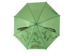 Яркий детский механический зонтик зверушка mr. FROGS art. 4304 лягушонок  (100132)
