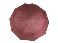 Женский красивый прочный зонтик полуавтомат одноцветный с проявкой BELLISSIMO art. 461 розовый (101682)