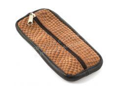 Стильная кожаная ключница с натуральной кожи ручной работы art.  (101506)