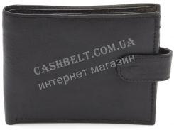 Компактный практичный кожаный мужской кошелек BENZER art. L3150 черного цвета