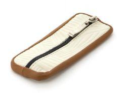 Стильная кожаная ключница с натуральной кожи ручной работы art.  (102727)