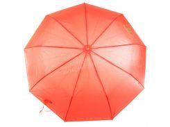 Женский прочный зонтик полуавтомат одноцветный Calm Rain art. SW515 красный (102407)