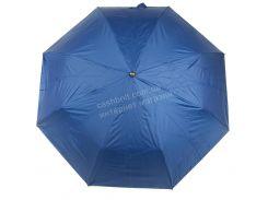 Женский прочный зонтик полуавтомат с красивой расцветкой MAX komfort art. 3065 синий (102497)