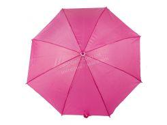 Яркий детский механический яркий зонтик трость  art. 16011  (101228) ярко розовый