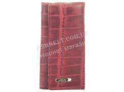 Стильная прочная компактная надежная кожаная ключница SALFEITE art. 2232BT-E80 красный