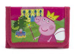 Красивый детский дешевыйкошелекart. Peppa pig (101035)