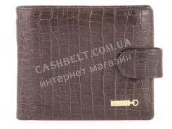 Прочный удобный кошелек из натуральной качественной кожи  SALFEITE art. 2173SL-D72 коричневый