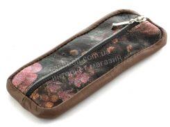 Стильная кожаная ключница с натуральной кожи ручной работы art.  (101511)