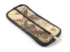 Стильная кожаная ключница с натуральной кожи ручной работы art.  (101470)