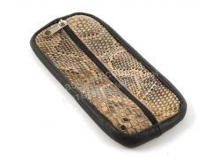 Стильная кожаная ключница с натуральной кожи ручной работы art.  (101508)