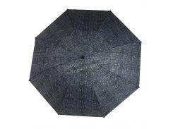 Женский симпатичный компактный прочный механический зонтик MARIO UMBRELLAS art. A077 синий (101720)