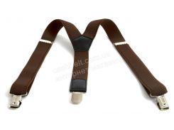 Подростковые подтяжки-резинка коричневого цвет (102506)
