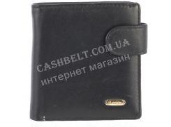 Небольшой стильный кожаный мужской кошелек из мягкой кожи H.VERDE art. 8475BN черный