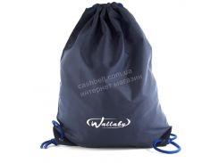 Спортивный мужской рюкзак для сменки WALLABY art. 2825 синий