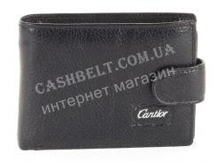 Удобный мужской кошелек CANTLOR art.507-K black