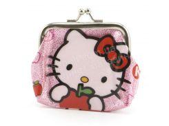 Маленький детский кошелек для девочек  art. 116 нежно розовый (102284)
