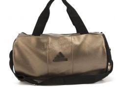 Спортивная женская сумка из эко кожи бочонок art. 418 (102163) бронзовая
