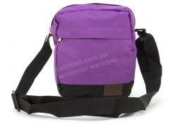 fbc7063e68f7 Стильная небольшая спортивная тканевая мужская сумка с надписью art. 56-5  (102291)