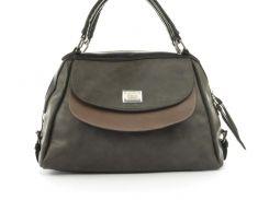 864d3de42c2c Стильная вместительная женская качественная сумка саквояж с мягкой эко кожи  BALIVIYA art. 7287 коричневая