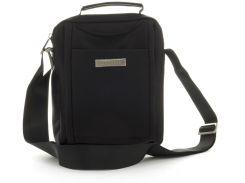 Качественная прочная мужская сумка почтальонка с качественного материала LeadHake art. 6851 черная