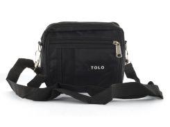 Стильная небольшая тканевая мужская сумка TOLO  art. 107