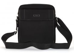 Очень прочная тканевая мужская небольшая наплечная сумка POLO art. 661-4