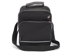 Черная тканевая мужская сумка WALLABY art. 2660 Украина