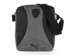 Стильная прочная мужская тканевая сумка art. 41-1 Светло-серый