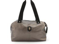 Спортивная женская сумка из эко кожи бочонок Wallaby art. 571497 бронзовая