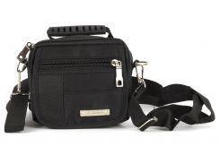 Стильная небольшая тканевая мужская сумка TOLO  art. 0712