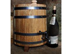 Жбан дубовый вертикальный (бочка) для напитков Seven Seasons™, 5 литров